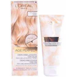 AGE PERFECT cremă embellecedora cu color #3-blond claro