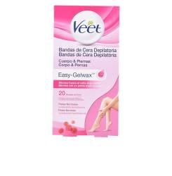 BANDAS DE CERA depilatorias corporales piel normal 20 uds