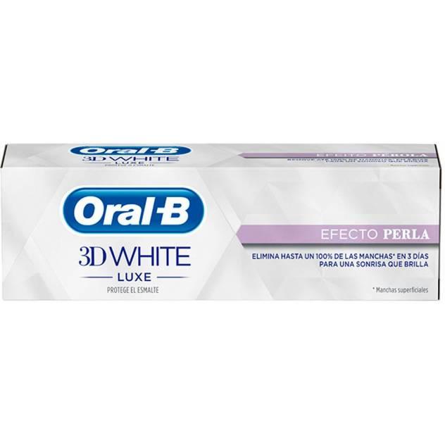 3D WHITE LUXE pasta dentífrica efecto perla 75 ml