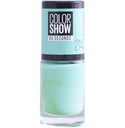 COLOR SHOW nail 60 seconds #214-green with envy
