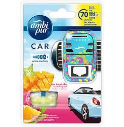 CAR odorizant aparato + recambio #fruta tropical