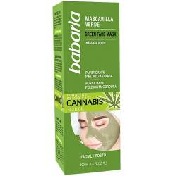 CANNABIS mascarilla verde facial piel mixta/grasa 100 ml