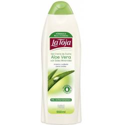 HIDROTERMAL gel de ducha aloe vera 550 ml