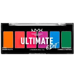 ULTIMATE EDIT petite shadow palette #brights 6x1,2 gr