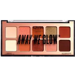AWAY WE GLOW shadow palette #hooked on glow 10x1 gr