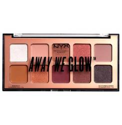 AWAY WE GLOW shadow palette #lovebeam 10x1 gr