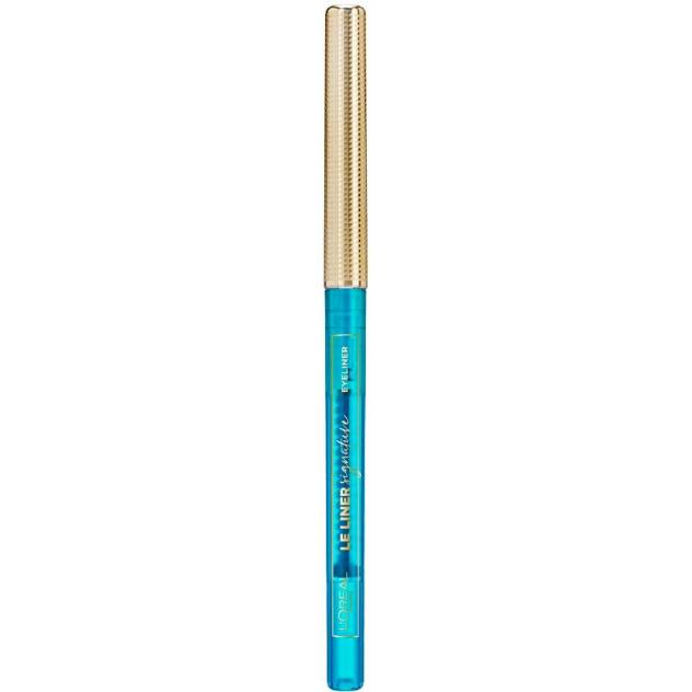 LE LINER SIGNATURE eyeliner #09-turquoise faux fur