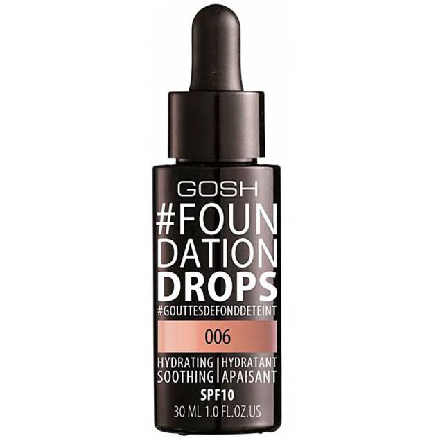 #FOUNDATION DROPS hydrating SPF10 #006-tawney 30 ml