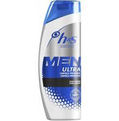 H&S MEN ULTRA champú limpieza profunda 600 ml