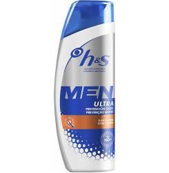 H&S MEN ULTRA champú prevención caída 600 ml