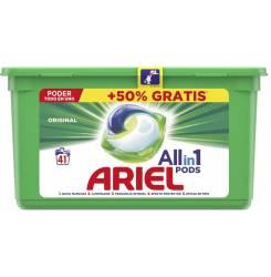 ARIEL PODS 3en1 detergente 41 cápsulas