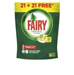FAIRY TODO EN 1 LIMON lavavajillas 42 cápsulas
