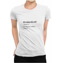 RESISTIRÉ camiseta #talla-M