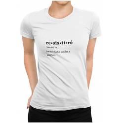 RESISTIRÉ camiseta #talla-L