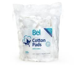 BEL COTTON PADS 100% algodón 8x10 cm 200 uds