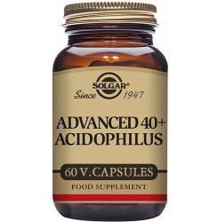 40 PLUS ACIDOPHILUS AVANZADO 60 cápsulas vegetales