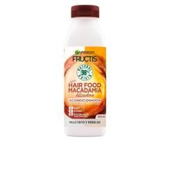 FRUCTIS HAIR FOOD macadamia suavizante alisador 350 ml