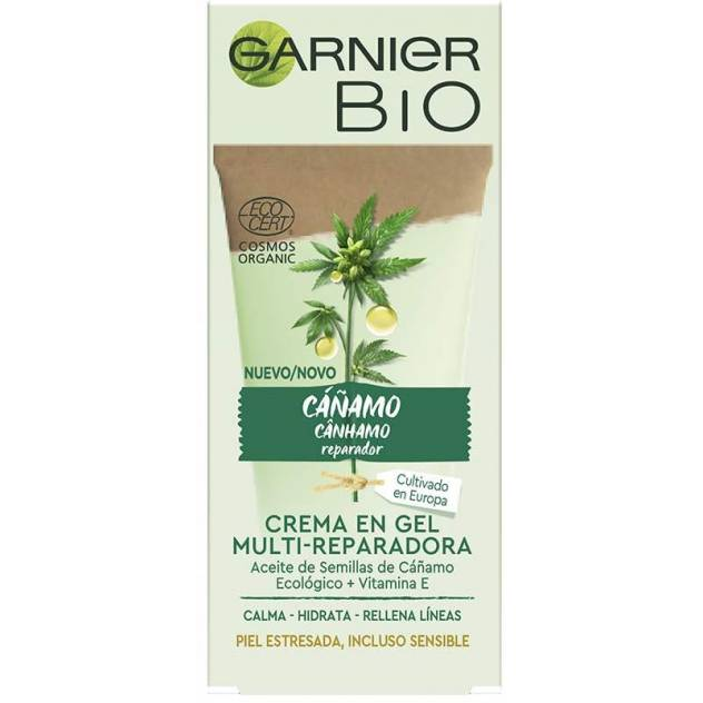 BIO ECOCERT cáñamo crema-gel multi-reparadora 50 ml