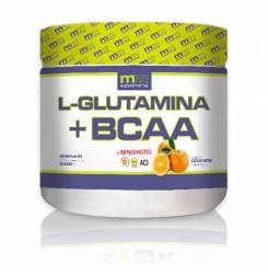 GLUTAMINA + BCAA #orange 500 g