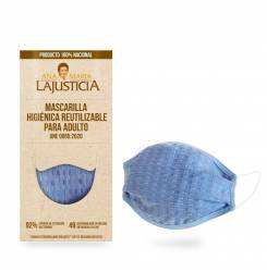 mascarilla higiénica reutilizable 30 lavados 1 pz