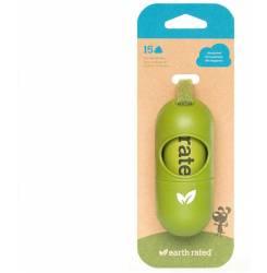 DISPENSADOR BOLSAS mascota con bolsas #sin perfume 15 uds