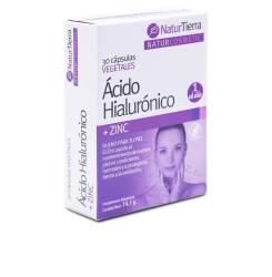 Ácido Hialurónico + zinc 30 caps vegetales