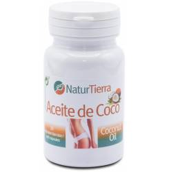 Aceite de coco 30 caps blandas