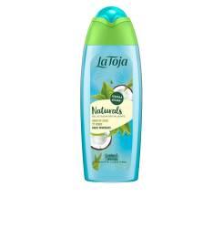 NATURALS agua coco y te verde gel de ducha 550 ml