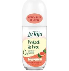 NATURALS pomelo y frambuesa deo roll-on 50 ml