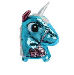 MOCHILA LENTEJUELAS unicornio 1 pz