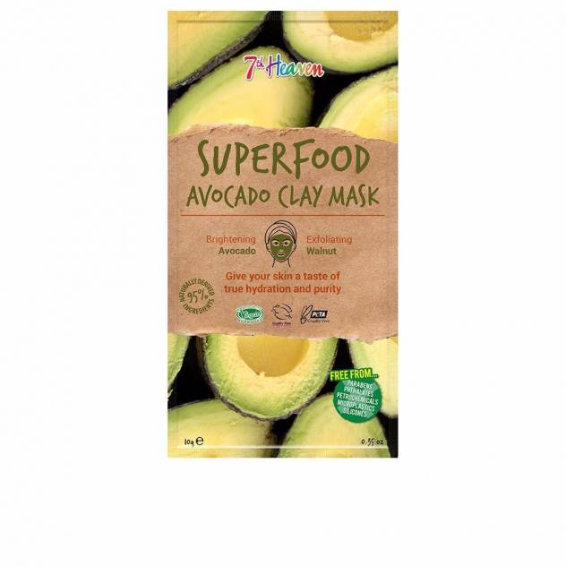 SUPERFOOD avocado clay mask 10 gr