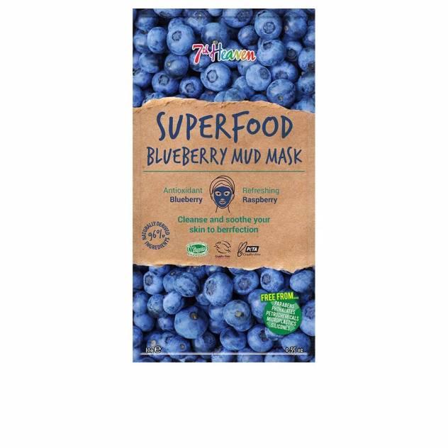 SUPERFOOD blue berry mud mask 10 gr
