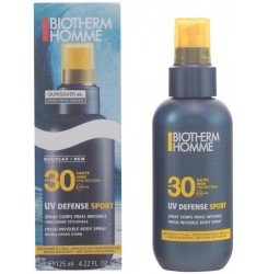HOMME UV DEFENSE SPORT spray corps SPF30 125 ml