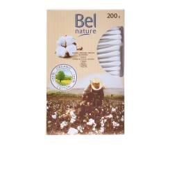 NATURE ECOCERT bastoncillos cartón algodón orgánico 200 pz