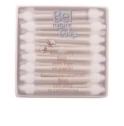 NATURE ECOCERT bastoncillos seguridad algodón 100% 56 pz