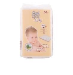 NATURE ECOCERT maxi discos bebé algodón 100% orgánico 60 pz