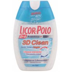 3D CLEAN 2en1 dentífrico 75 ml