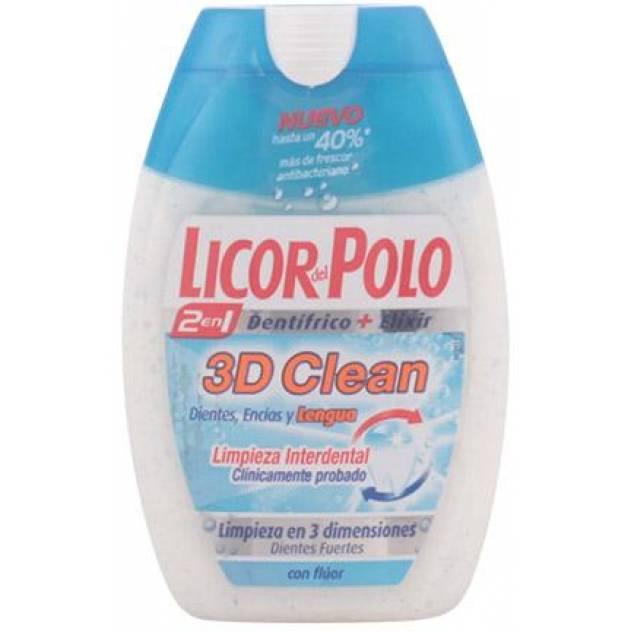3D CLEAN 2en1 dentífrico 75 ml
