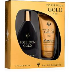 POSEIDON GOLD FOR MEN LOTE 2 pz