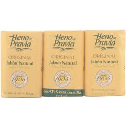 ORIGINAL jabon NATURAL LOTE 3 x 115 gr