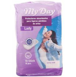 MY DAY compresas incontinencia mini 16 uds