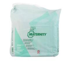 MATERNITY compresa tocológica algodón impermeable 20 uds