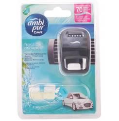 CAR ambientador aparato + recambio #aqua 7 ml