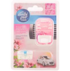 CAR odorizant aparato + recambio #for her 7 ml