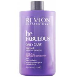 BE FABULOUS daily care fine par cremă balsam 750 ml