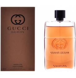 GUCCI GUILTY ABSOLUTE POUR HOMME edp vaporizador 90 ml