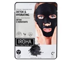DETOX CHARCOAL BLACK tissue facial mask 1use