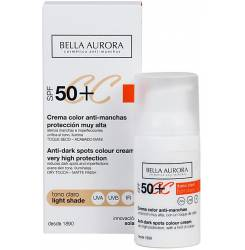 CC CREAM anti-pete tono claro SPF50+ 30 ml