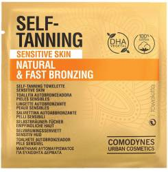 SELF-TANNING natural & fast bronzing sensitive skin 8 uds