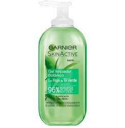 SKINACTIVE HOJA TE verde gel limpiador piel mixta 200 ml